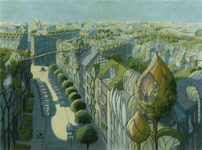 Agora Urban Master Class : Villes Utopiques - Luc Schuiten