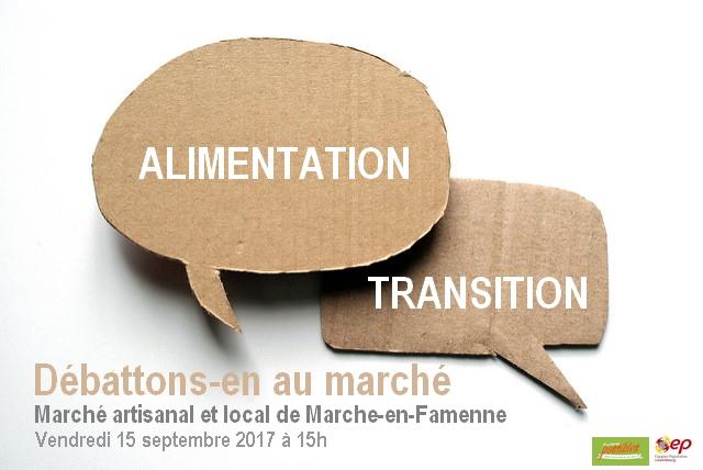 Alimentation et transition, débat public