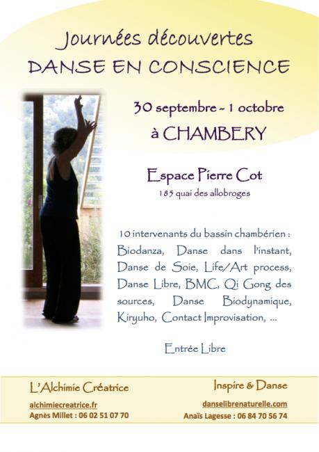 Journées découvertes de la Danse en Conscience