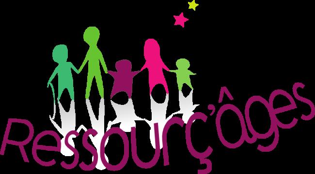 Logo Ressourç'âges ASBL