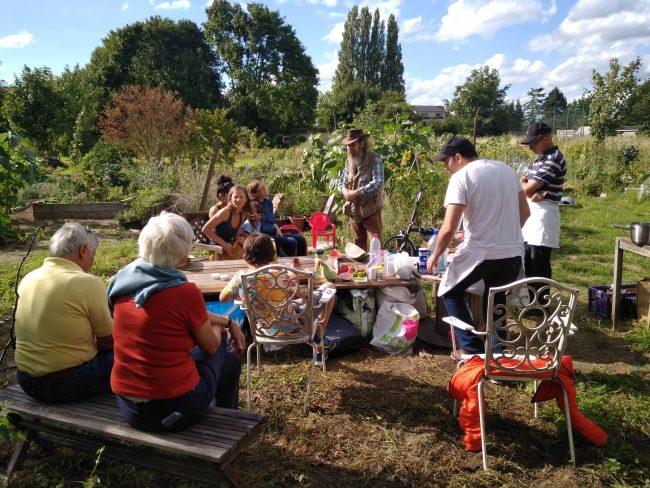 FruityHaren: jardin ouvert et rencontre conviviale de quartier