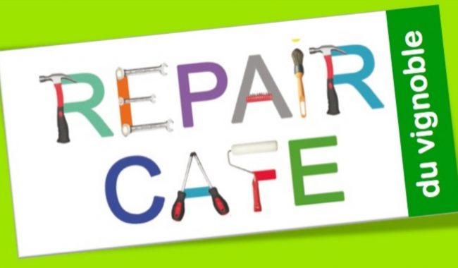 Logo Repair Café du vignoble nantais