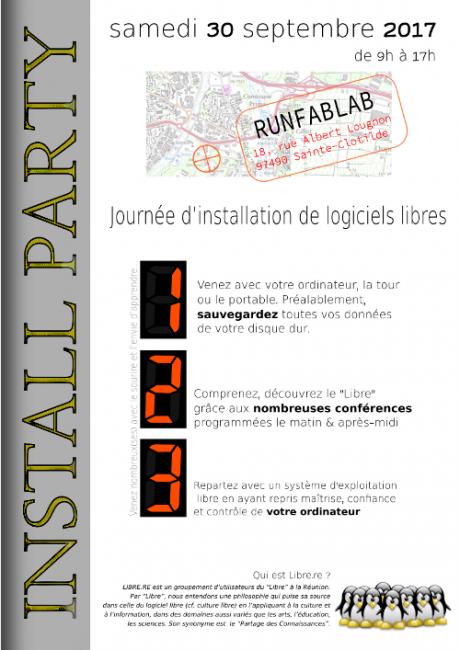 Install Party au RunFablab