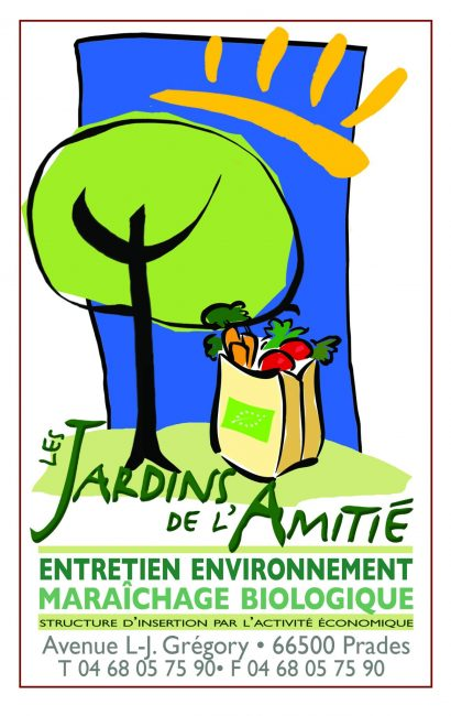 Logo Les Jardins de l'Amitié
