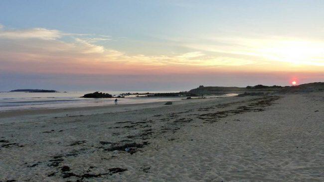 Nettoyage de plage à Erdeven (56)