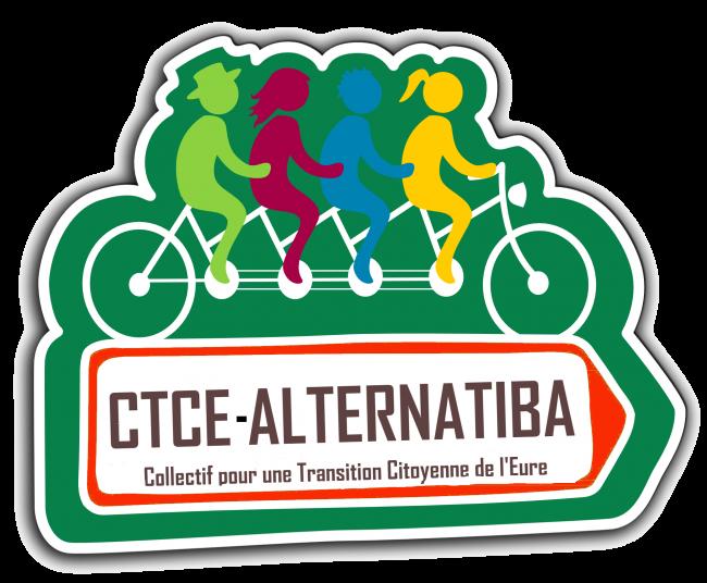 Logo CTCE-Alternatiba + MLCE (monnaie locale citoyenne de l'eure-centre)