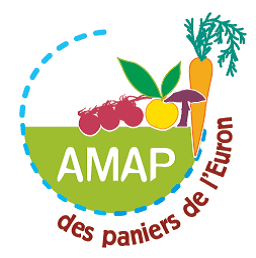 Logo AMAP des Paniers de l'Euron