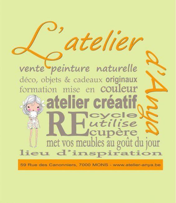 Logo Atelier d'Anya + O&Co