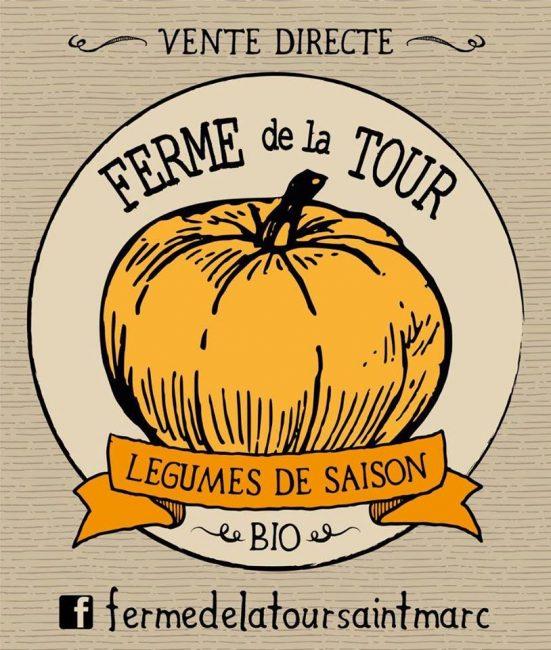 Logo Ferme de la Tour, Saint-Marc