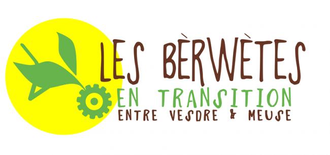 Logo Equipes Populaires, Croc'Espace, Revert asbl, les Berwetes en transition