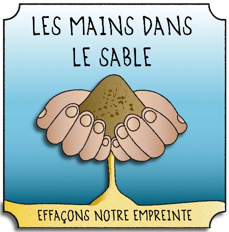 Logo Association Les Mains Dans Le Sable, antenne Finistère