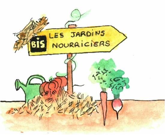 Logo Association Les Jardins Nourriciers