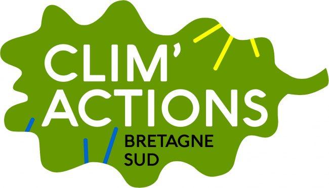 Logo Clim actions Bretagne Sud