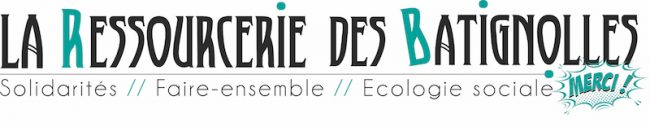 Logo La ressourcerie des Batignolles