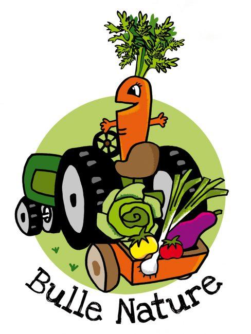 Logo Ferme maraîchère bio Bulle Nature