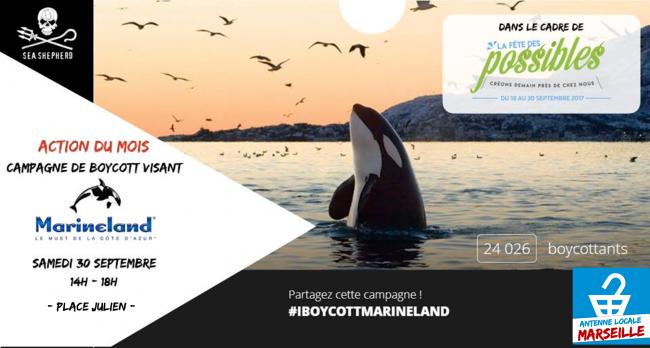 Sensibilis'action avec I-Boycott Marseille