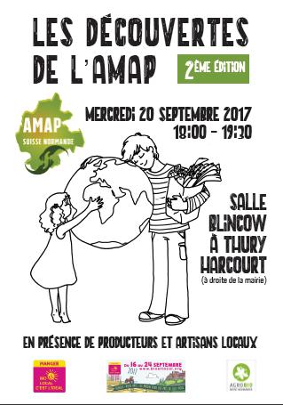 Les découvertes de l'AMAP de la Suisse Normande
