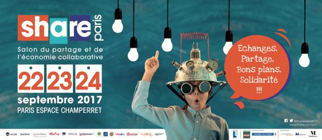 SHARE PARIS 1er Salon de l'Economie Collaborative et du Partage
