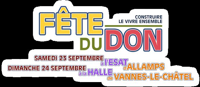 Logo Association Fête du Don