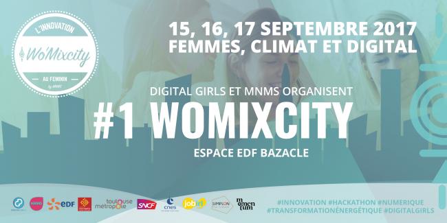 Wo'Mixcity - Marathon de l'innovation au féminin #1 Femmes, Climat et Digital