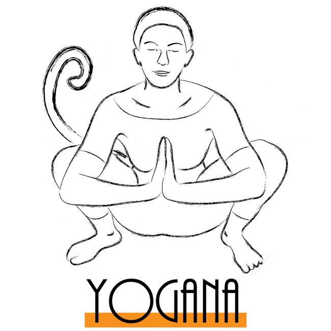 Logo Yogana par Hannah Bensoussan