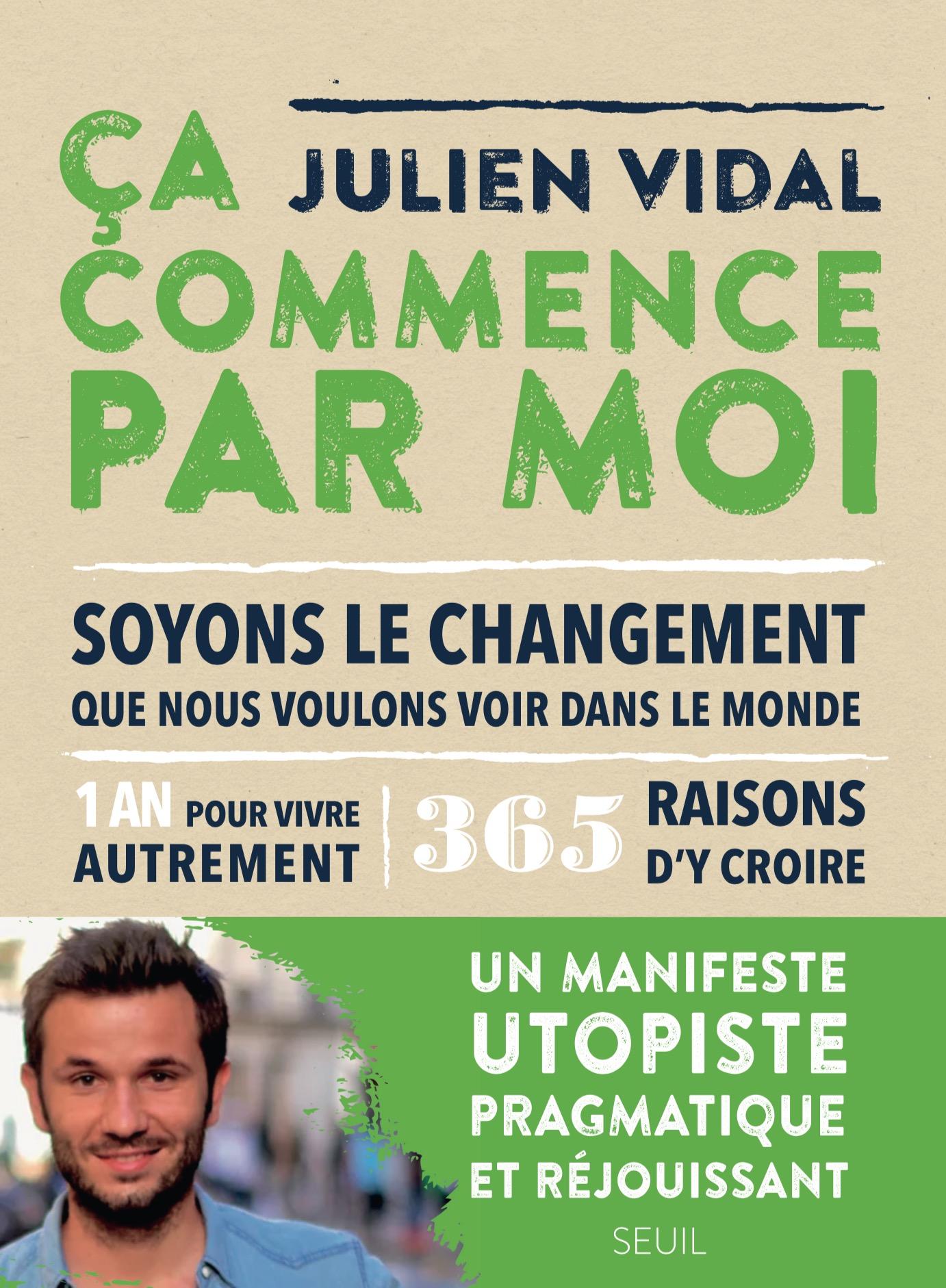 Sortie du livre «Ça Commence Par Moi» avec Ecosia et le Seuil