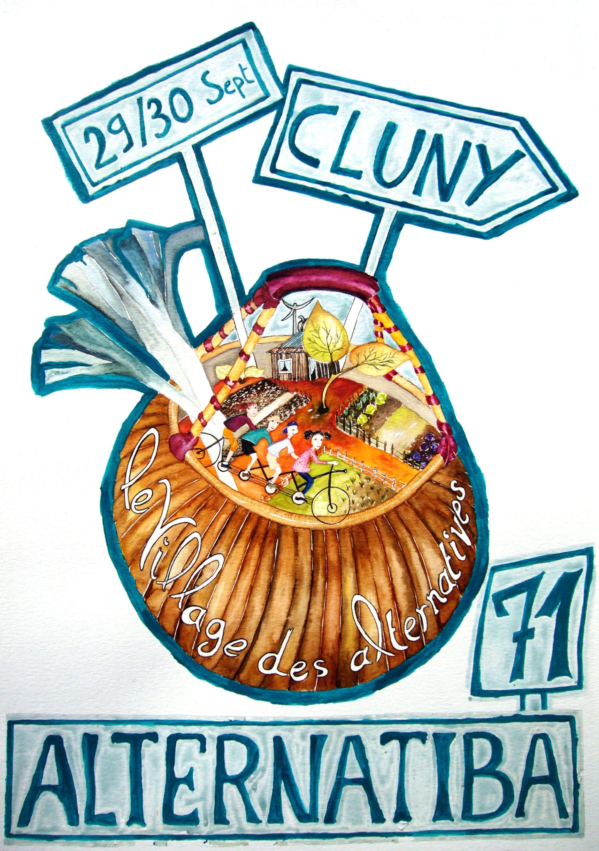 Village des Alternatives, Alternatiba 71, Cluny