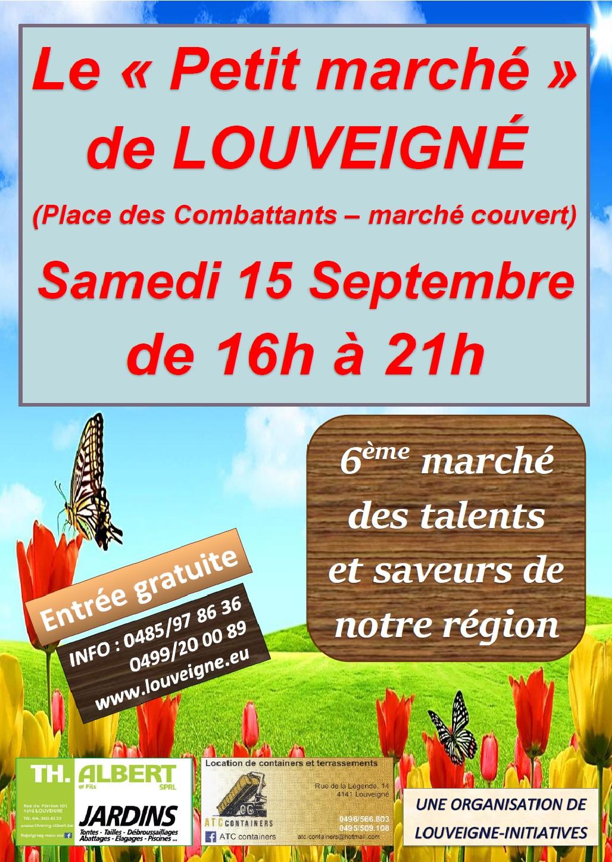 Le «Petit marché» de Louveigné