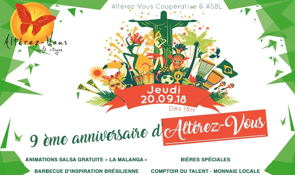 9eme Anniversaire du café citoyen Altérez-Vous