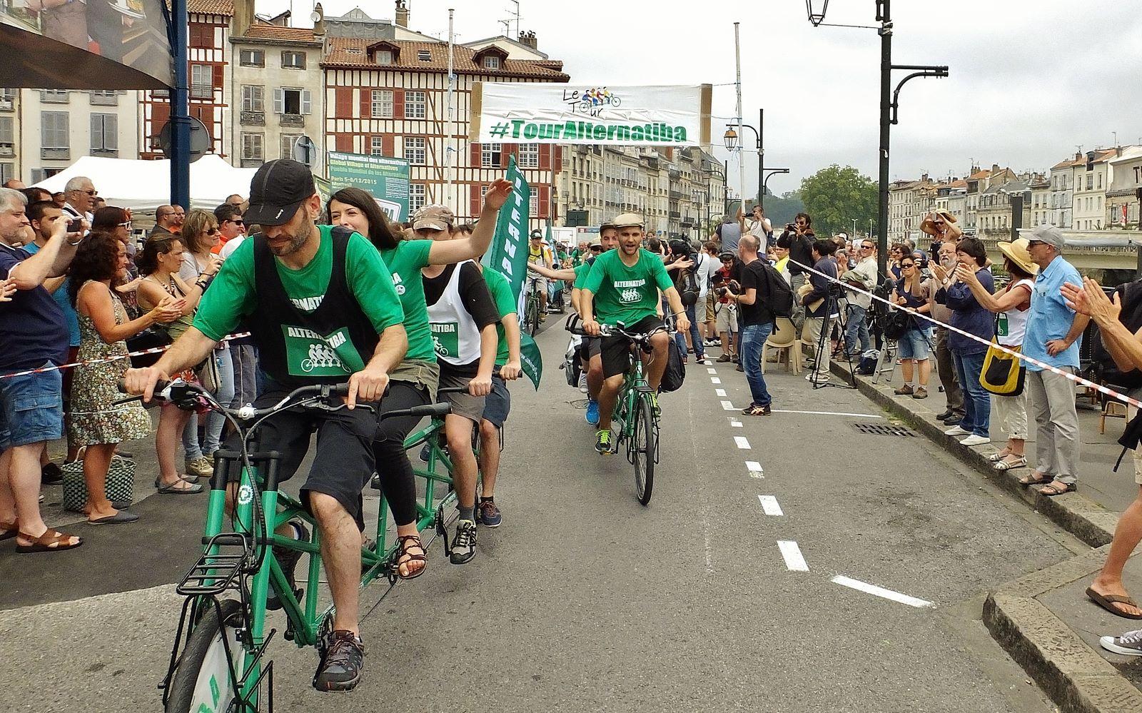 Le Tour Alternatiba au Pays Basque !