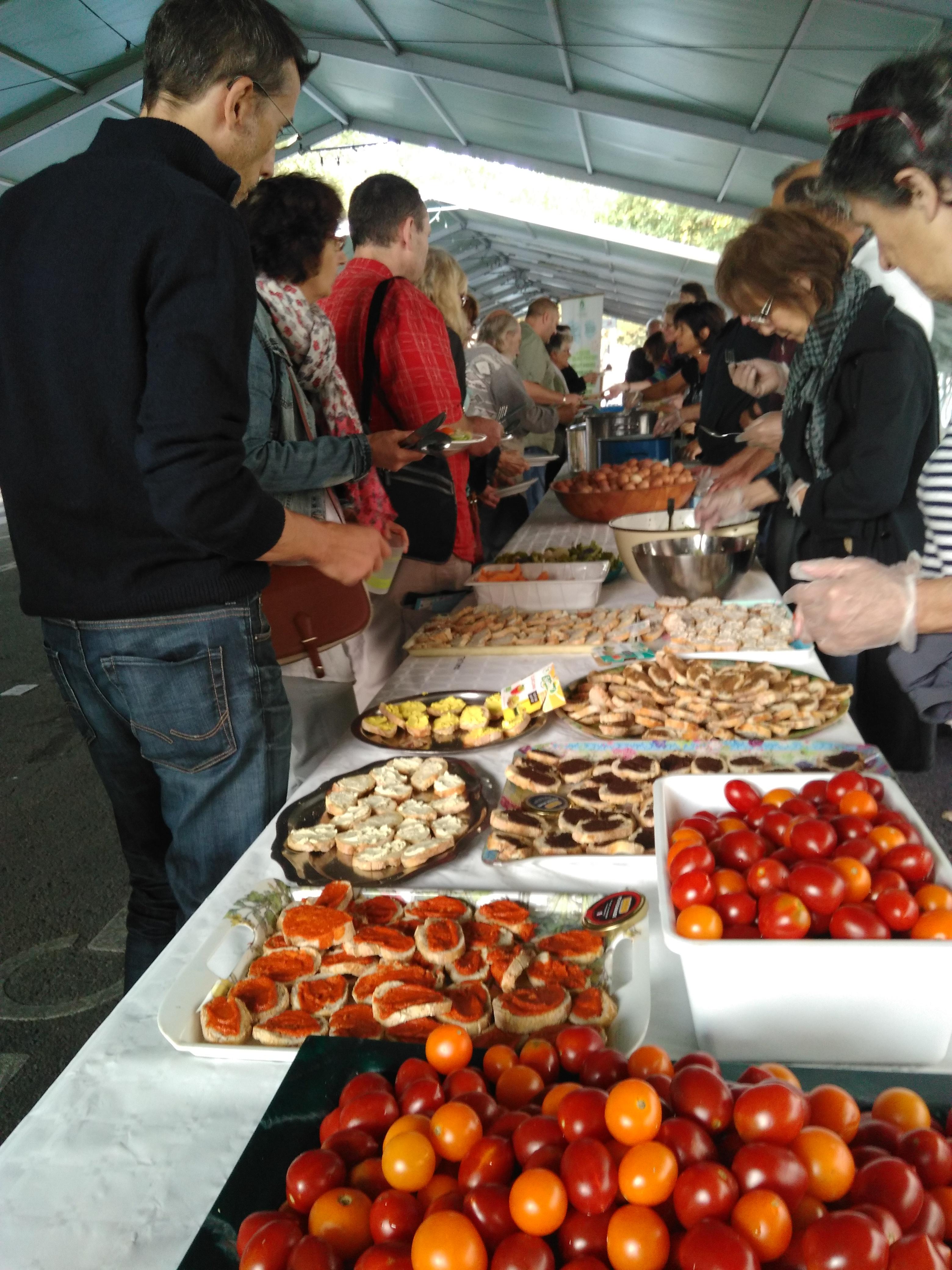 Grand Banquet Populaire anti-gaspi, bio-végétarien et gratuit !