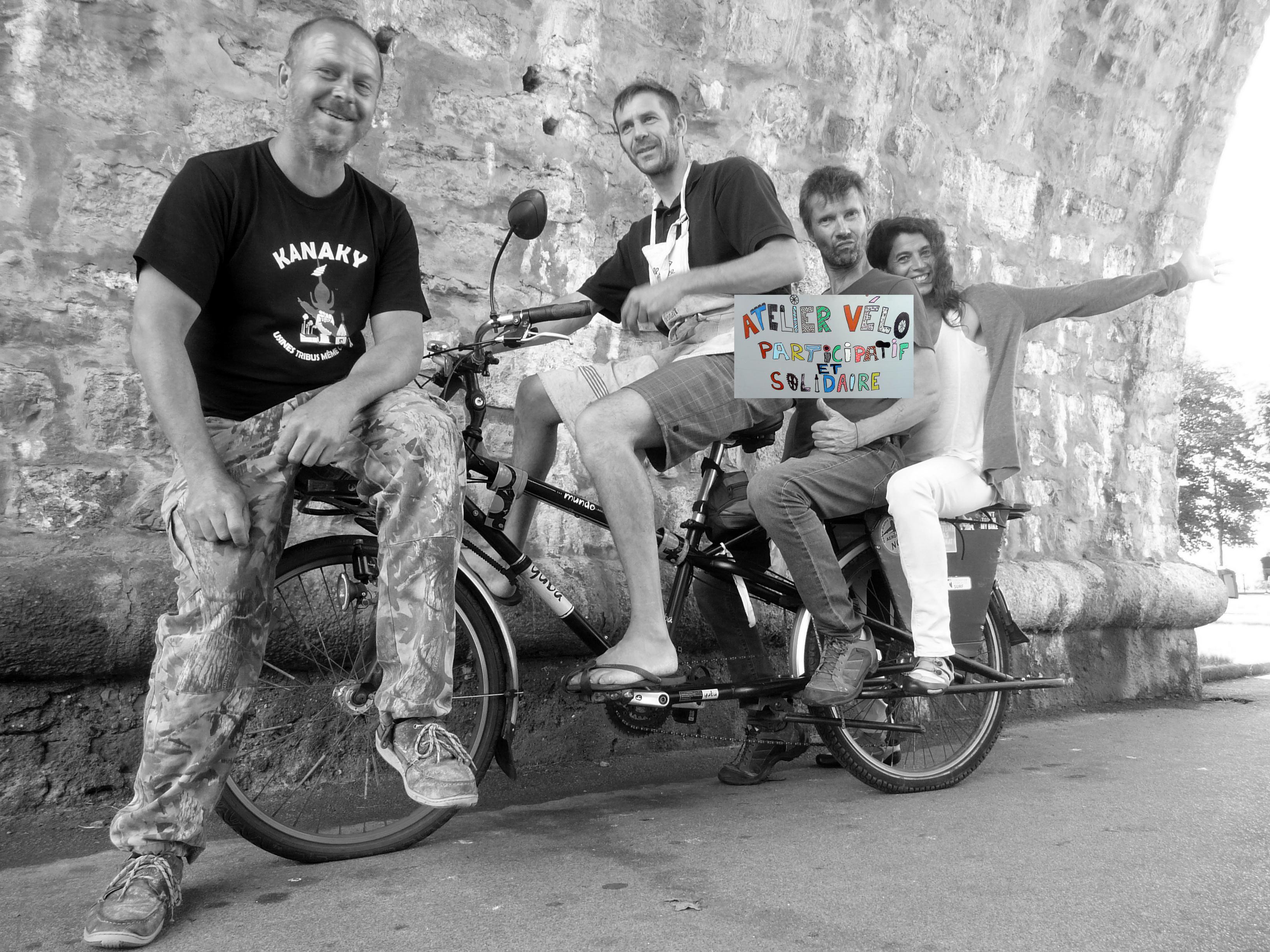 Atelier vélo participatif et solidaire
