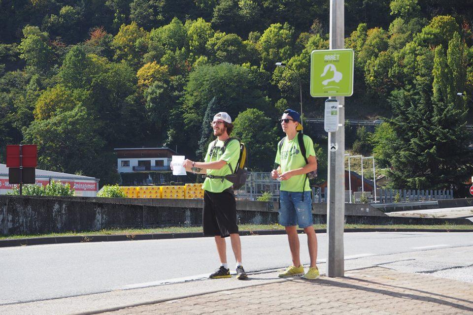 Course d'Autostop en Tarentaise