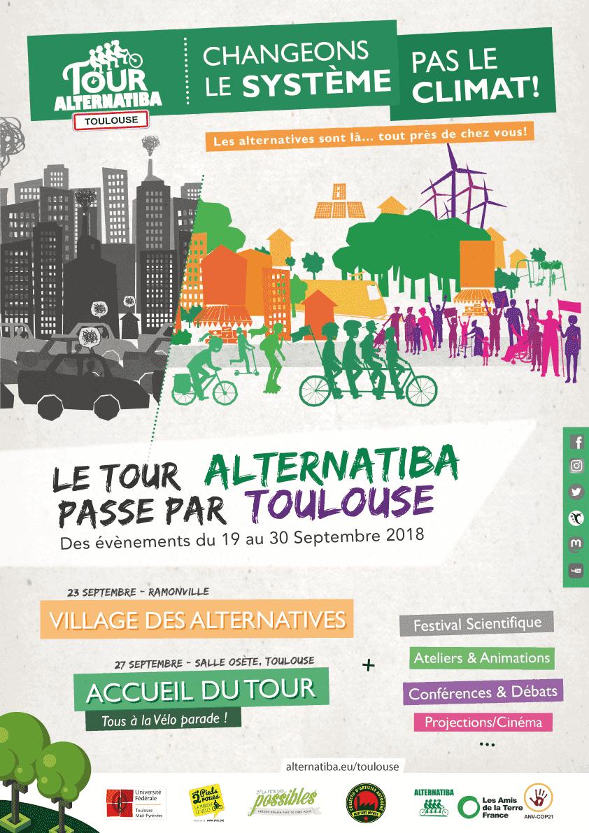 Festival Alternatiba Toulouse du 19 au 30 septembre 2018
