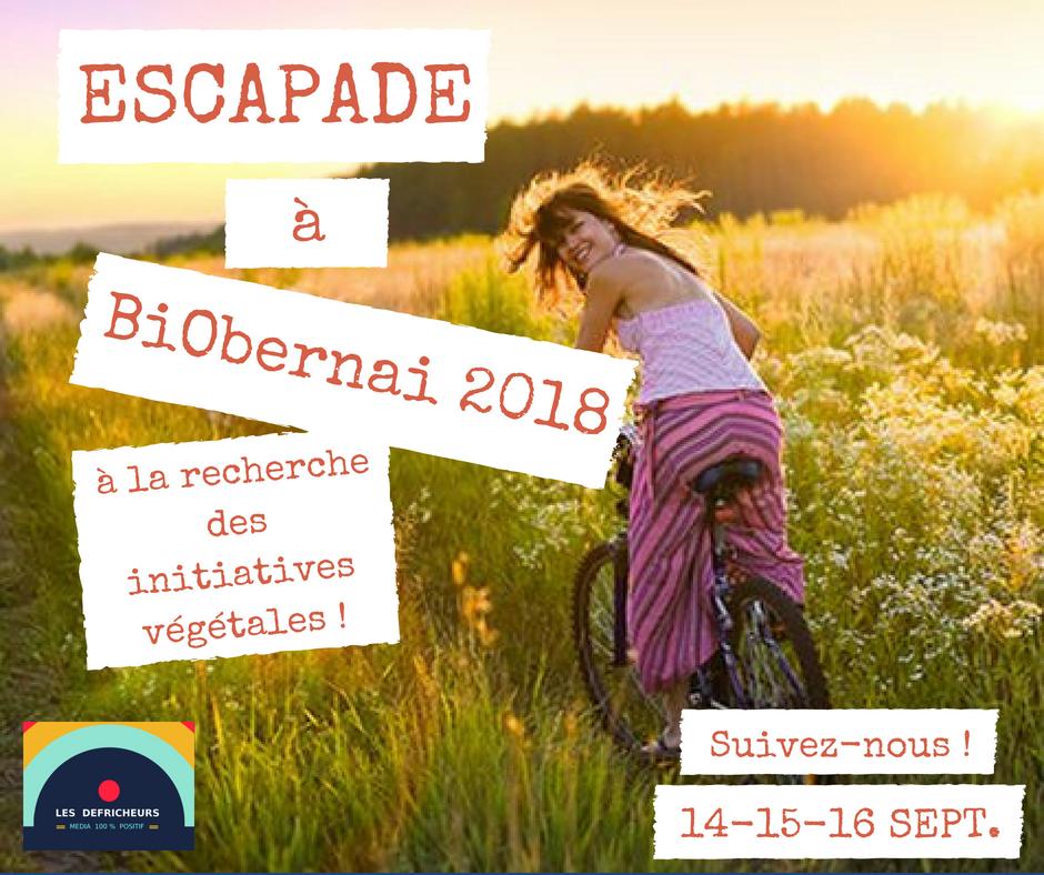 Escapade au BiObernai à la recherche des initiatives végétales !