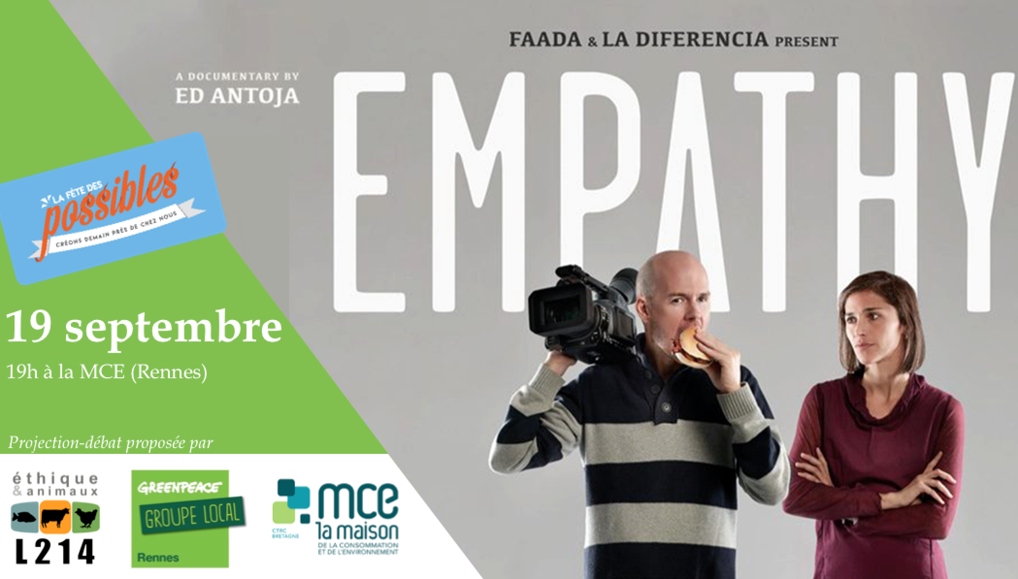 Projection documentaire «Empathy»