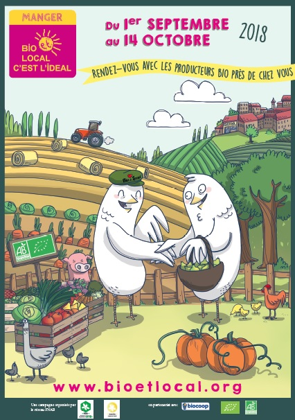 «L'automne sera bio, ça se fête» organisé par le GAB 70 à Vesoul