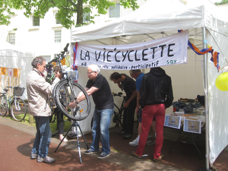 «La Vie'cyclette» atelier vélo solidaire