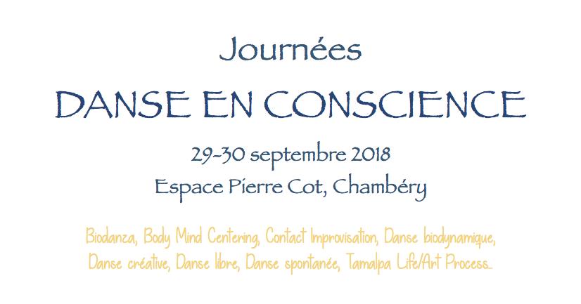 Journées de la Danse en Conscience