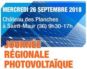 La Nef participe à la Journée Régionale Photovoltaïque à Saint Maur (36)
