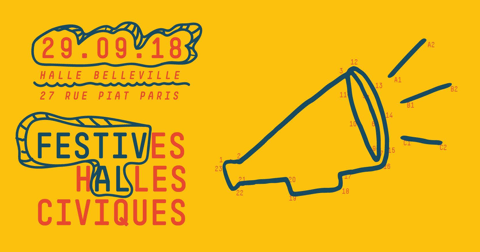 Festives Halles Civiques
