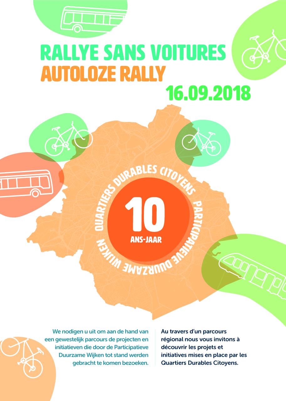 Rallye sans voitures- Quartiers Durables Citoyens -circuit nord