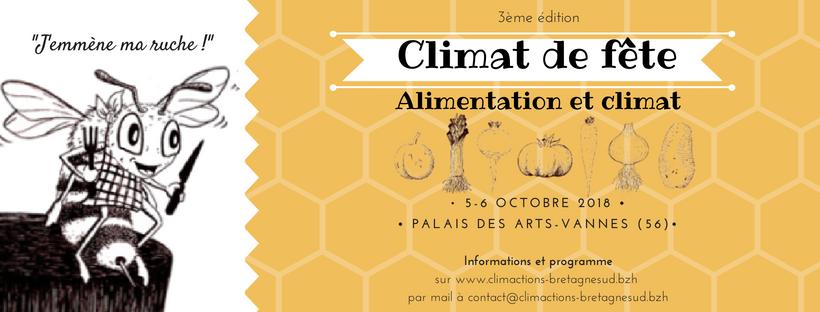Climat de fête «alimentation et climat»