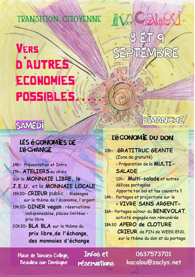 «Vers d'autres économies possible»