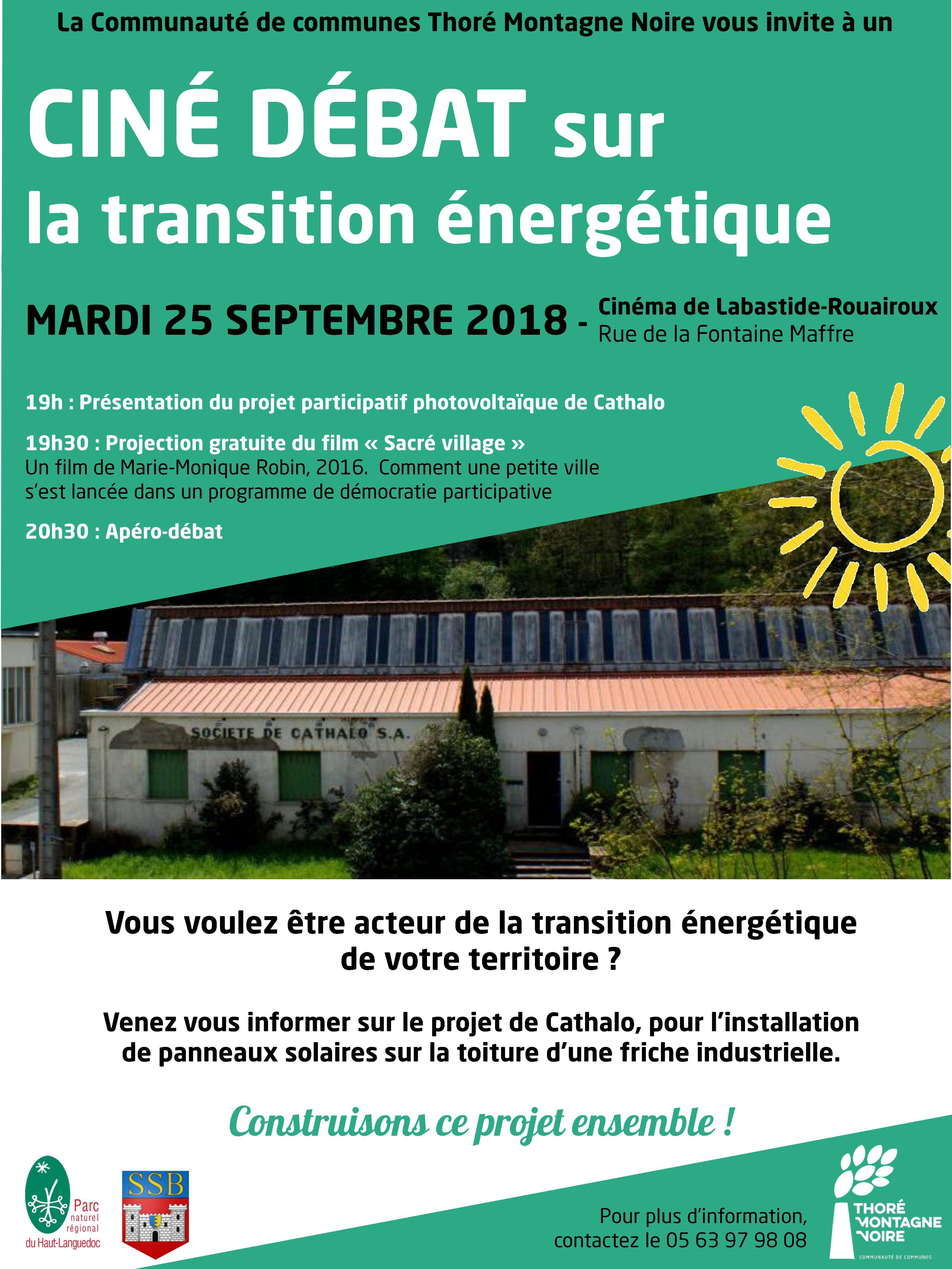 Ciné Débat sur la transition énergétique