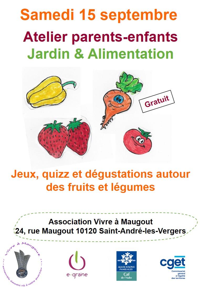 Atelier famille «Jardin et Alimentation»