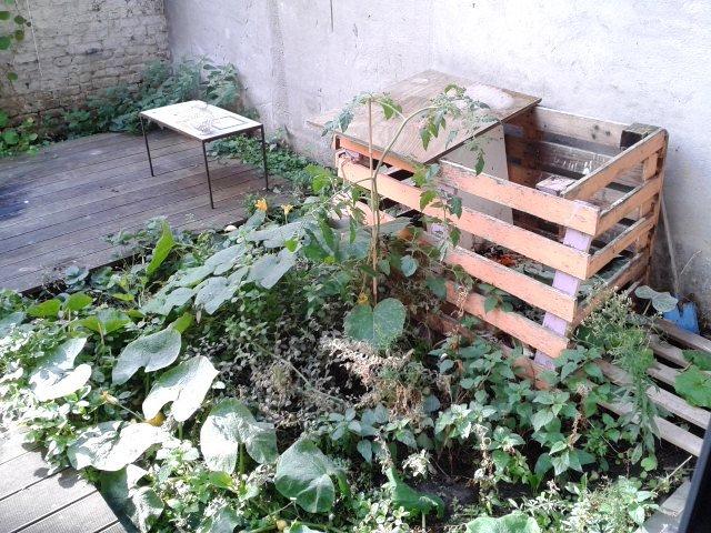 Visite du compost des Sorciers