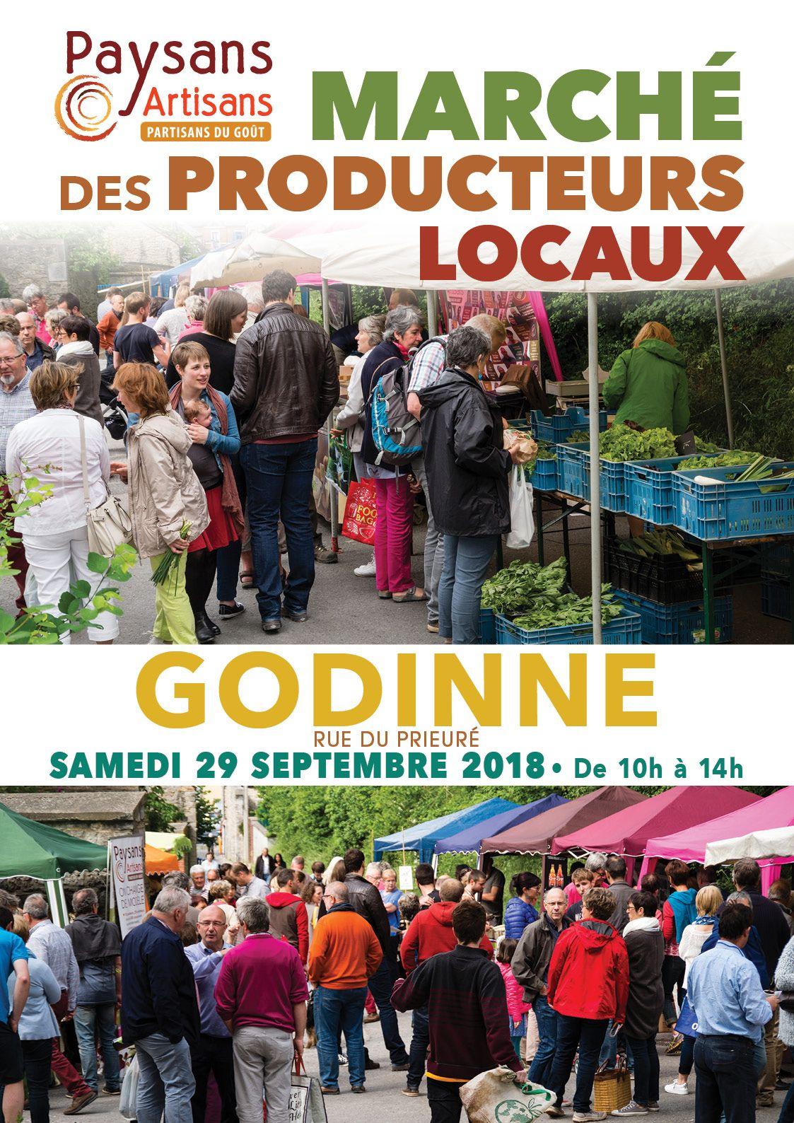 Marché Paysans-Artisans à Godinne !