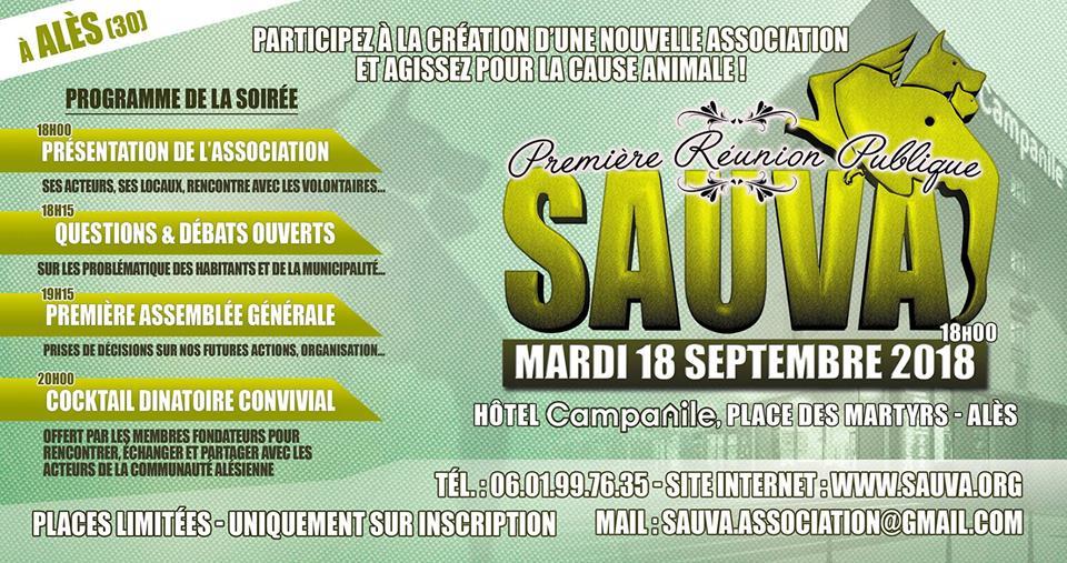 Première Réunion Publique SAUVA