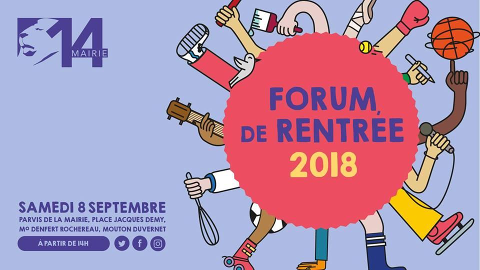 Forum des association du 14ème arrondissement